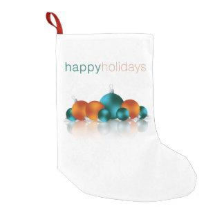 Christmas bauble small christmas stocking