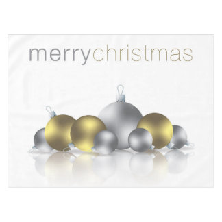 Christmas bauble tablecloth