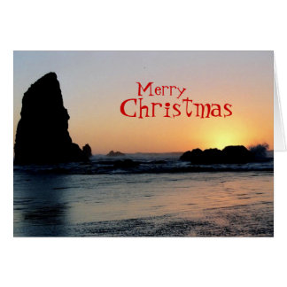 Christmas (Beach) Card
