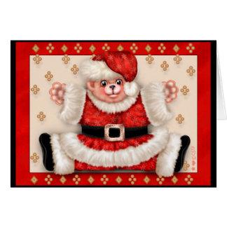 Christmas Bear 5 Premium Note Card