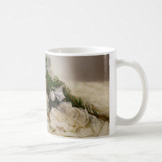 Christmas bear classic white coffee mug