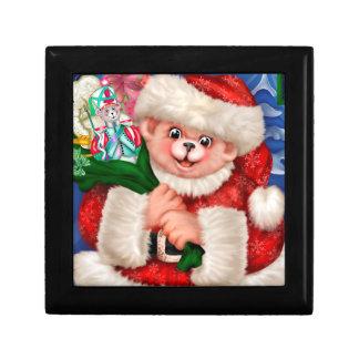 CHRISTMAS BEAR FUN ENGLISH GIFT BOX 8