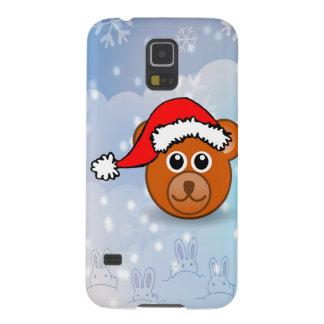Christmas Bear Galaxy S5 Case