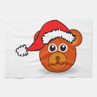 Christmas Bear Kitchen Towel