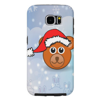 Christmas Bear Samsung Galaxy S6 Cases