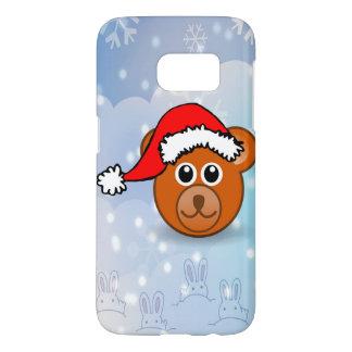 Christmas Bear Samsung Galaxy S7 Case