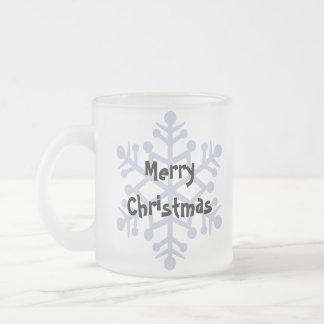 Christmas Bearded Dragon / Rankins Dragon Frosted Glass Mug
