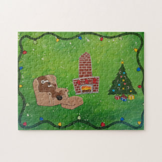 Christmas Beaver Puzzle