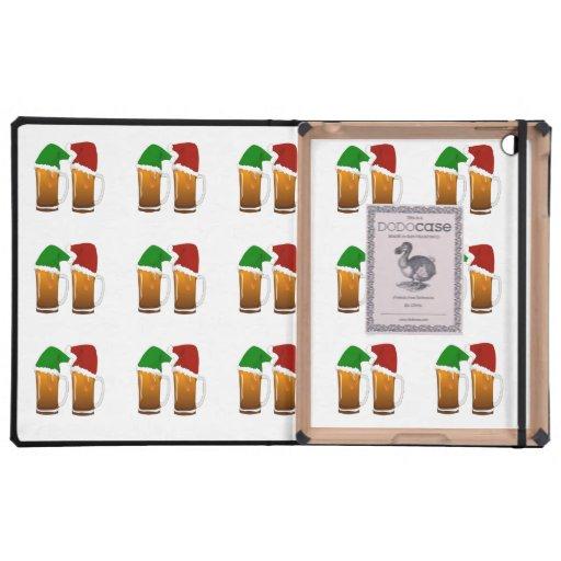Christmas Beer Cheer iPad Folio Cases