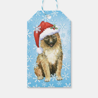 Christmas Belgian Laekenois Gift Tags