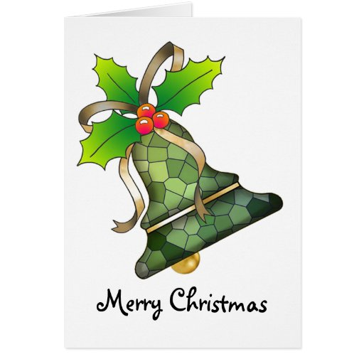 Christmas Bell 19 - Merry Christmas Greeting Cards