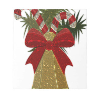 Christmas Bell #2 Notepad