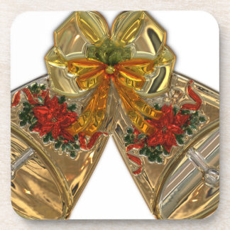 Christmas Bell #3 Beverage Coasters