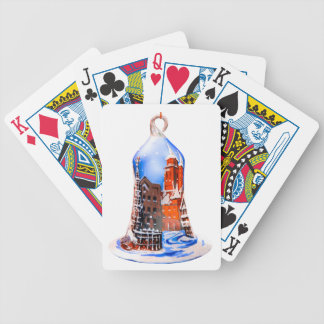 Christmas Bell #5 Bicycle Playing Cards