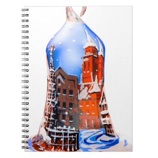 Christmas Bell #5 Spiral Note Book