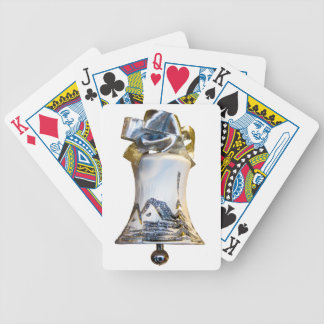 Christmas Bell Bicycle Playing Cards