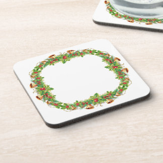 Christmas Bell Garland Coasters (set of 6)