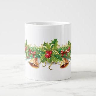 Christmas Bell Garland Jumbo Mug