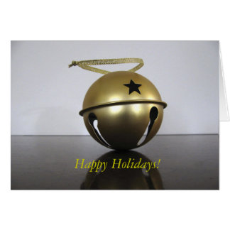 Christmas Bell Note Card