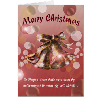 Christmas Bell (Red) Greeting Card