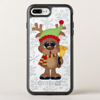 Christmas bell reindeer iPhone 7 plus case