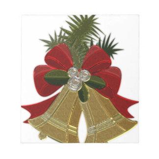 Christmas Bells #4 Notepad