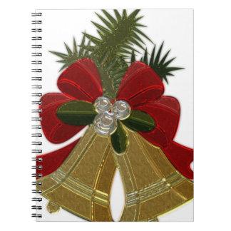 Christmas Bells #4 Spiral Notebook