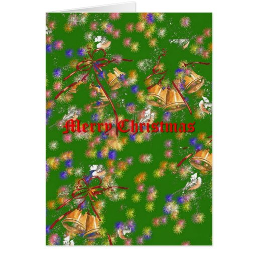 Christmas Bells Greeting Cards