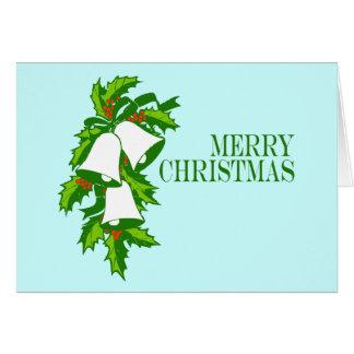 Christmas Bells Greeting Card