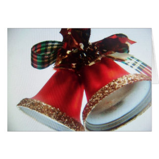 christmas bells(card) greeting card