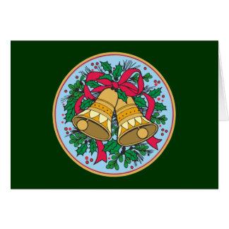 Christmas bells christmas bells greeting card
