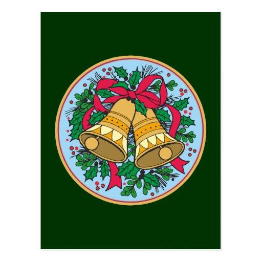 Christmas bells christmas bells postcard