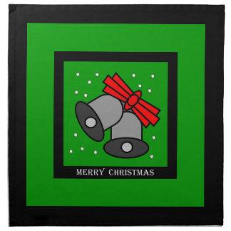 Christmas Bells Cloth Napkin