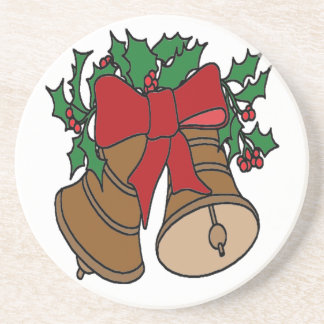 Christmas Bells Drink Coaster