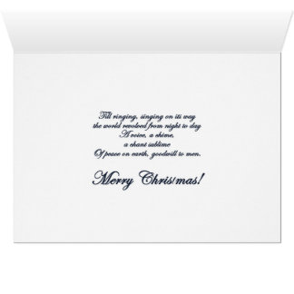 Christmas Bells holiday card