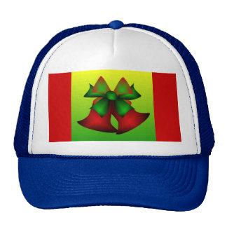 Christmas Bells II In Blue Mesh Hat