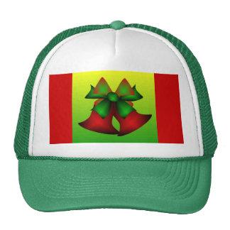 Christmas Bells II In Green Mesh Hat