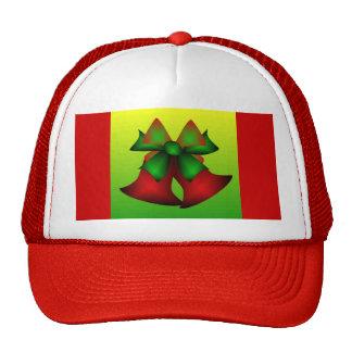 Christmas Bells II In Red Mesh Hats
