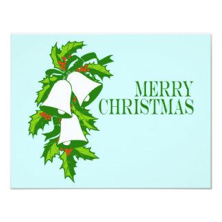 Christmas Bells 4.25x5.5 Paper Invitation Card