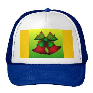 Christmas Bells IV In Blue Trucker Hats