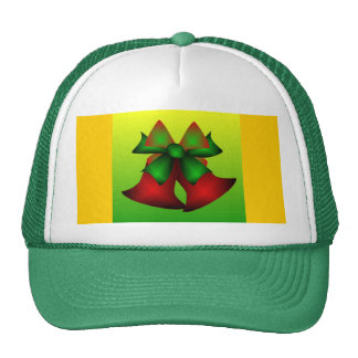 Christmas Bells IV In Green Mesh Hat