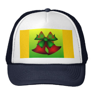 Christmas Bells IV In Navy Mesh Hats