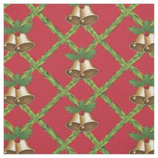Christmas Bells Pattern Fabric