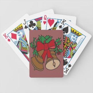 Christmas Bells Poker Deck
