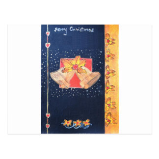 Christmas Bells Postcard