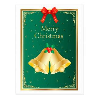 Christmas Bells Postcard