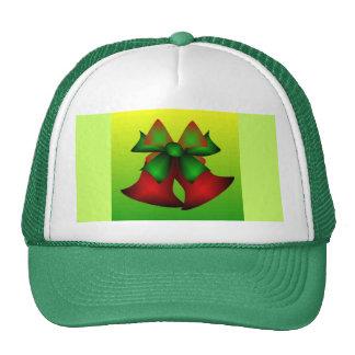 Christmas Bells V In Green Hats