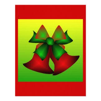 Christmas Bells VIII Customized Letterhead