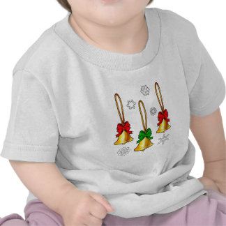 Christmas Bells with Bows Tees