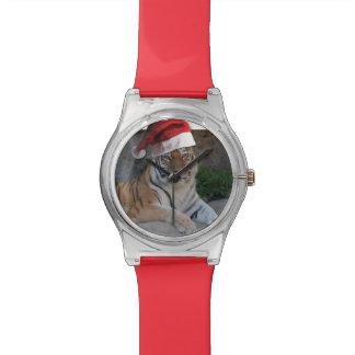 Christmas Bengal Tiger Wristwatch